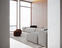 Office recreation area | Architectural Visualization