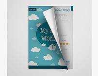 Graduation project. English learning worksheets book.