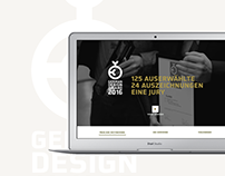 German Design Award Website