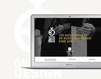 German Design Award Website
