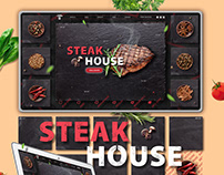 Steak House concept graphic design