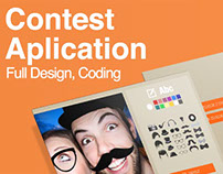 Contest application // Orange