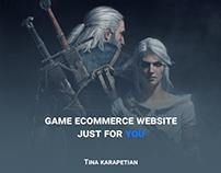 Game eCommerce Website