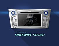 Car stereo- Sideswipe