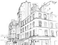Paris, rue de Charonne