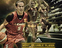 KOTC presented by Tanduay. Adidas Most Valuable Player