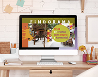 Pindorama's parallax web