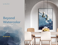 Beyond Watercolor. Abstract Collection