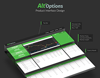 Alt-Options Trading Platform Design