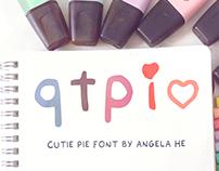 qtpi - free font