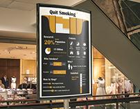 Awareness Infographic Poster on Smoking
