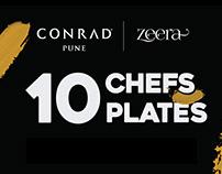 10 CHEFS 10 PLATES - CONRAD PUNE