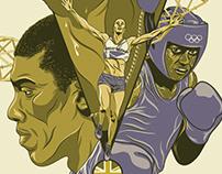 """GoLDN"" AACDD London 2012 Olympics Poster"
