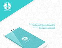 Indonesia Berbagi baik Mobile App UI