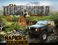 Tough World Ad - Napier Precision Products