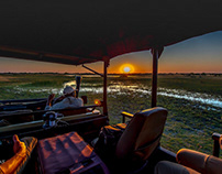 On the Delta - Okavango Delta - Botswana
