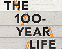 100 Year Life book cover design