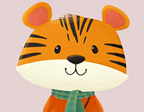 Tiger Character Design