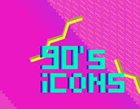 90's icons