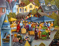 Le marché en Pologne