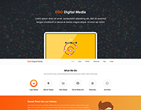 EGO Digital One Page Template