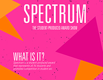 Designs for Spectrum, A Student Produced Award Show