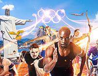 CASINOHUONE Olympics 2016 Rio Campaign