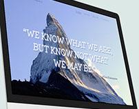"""Le Creative Company"" Web Concept"