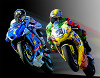 Billboards for Racing Championship