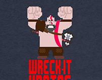 Wreck it kratos