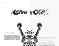 NY - Magazine Page Design