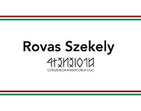 Rovas Szekely Font