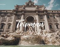 Landing Page for Tripman