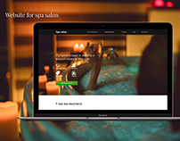 Website for spa salon