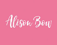 Alison Bow Business Cards