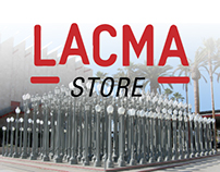 LACMA STORE | website redesign