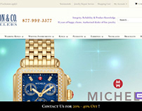 Web Design for Jewelry Store