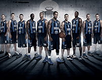Basketball team poster BC Dnipro