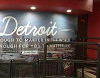 BEDROCK // Detroit Garage Mural