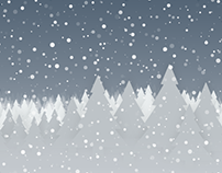 Snow Forest – Winter wallpaper for mobile devices