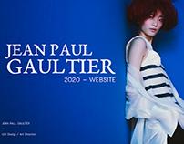 Jean Paul Gaultier - 2020 Website