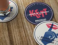 Klett Beer - Brand identity