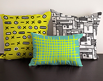 DOODLE MAN - print design for Home Decor products