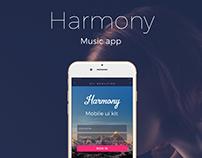 Music app Harmony