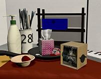 Maya 3D Still-Life