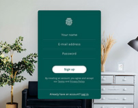 Free Login Form Page Design Template