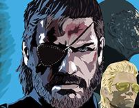 Metal Gear Solid V Poster