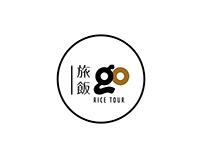 """旅飯go 視覺規劃 Visual Identity, UI Design of """"RICETOUR"""""""