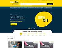 maintenance service home page