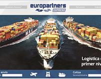 Rediseño Página Web Europartners